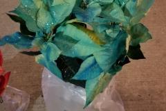 Painted Poinsettias
