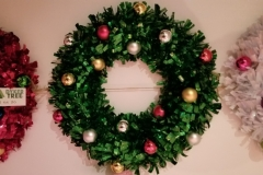 Wreath 20in Xmas Green
