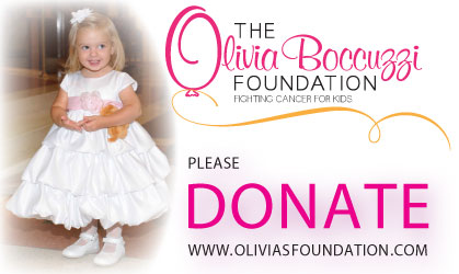 olivia's foundation fighting cancer for kids button